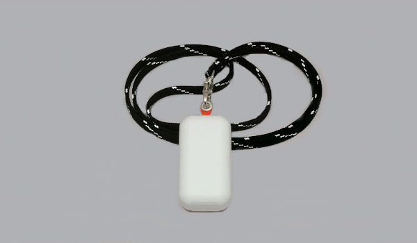 UHF RFID Battery-Assisted Lanyard