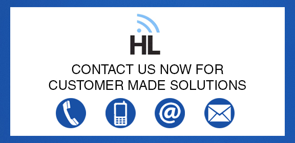 HL Contact Us For Customer Made Solutions Blue BG