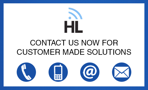 HL Contact Us For Customer Made Solutions Blue Bg Short For Home Circle Icon