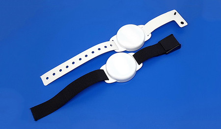 UHF RFID Battery-Assisted Passive Wristband